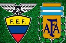 Ecuador vs. Argentina en vivo: a que hora juegan y canales de T.V. lo transmiten en directo