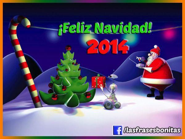 Feliz Navidad y  Año nuevo, imágenes con frases largas