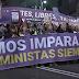 La marea feminista desborda Madrid en un 8M histórico