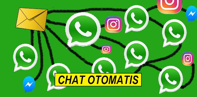 Cara Balas Chat Secara Otomatis WhatsApp,Instagram Dan Lainnya