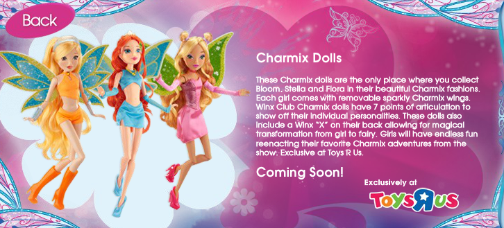 Winx 4 Life New Toys R Us Winx Exclusives