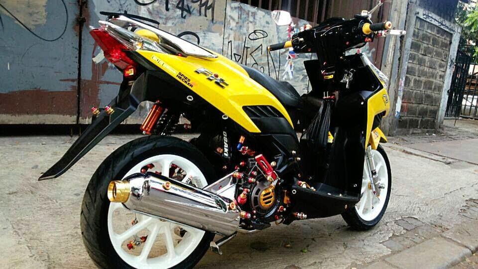HONDA CS 1 | paduan modifikasi motor