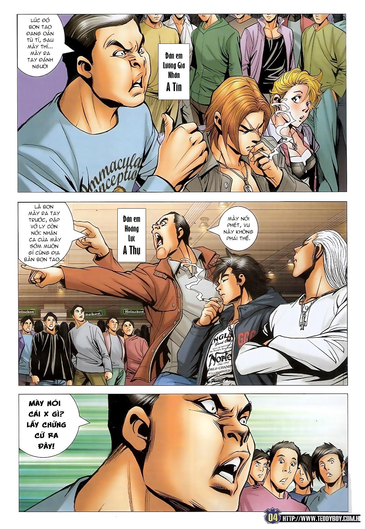 Người Trong Giang Hồ - Chapter 1493: Tốt bụng làm hỏng chuyện - Pic 3