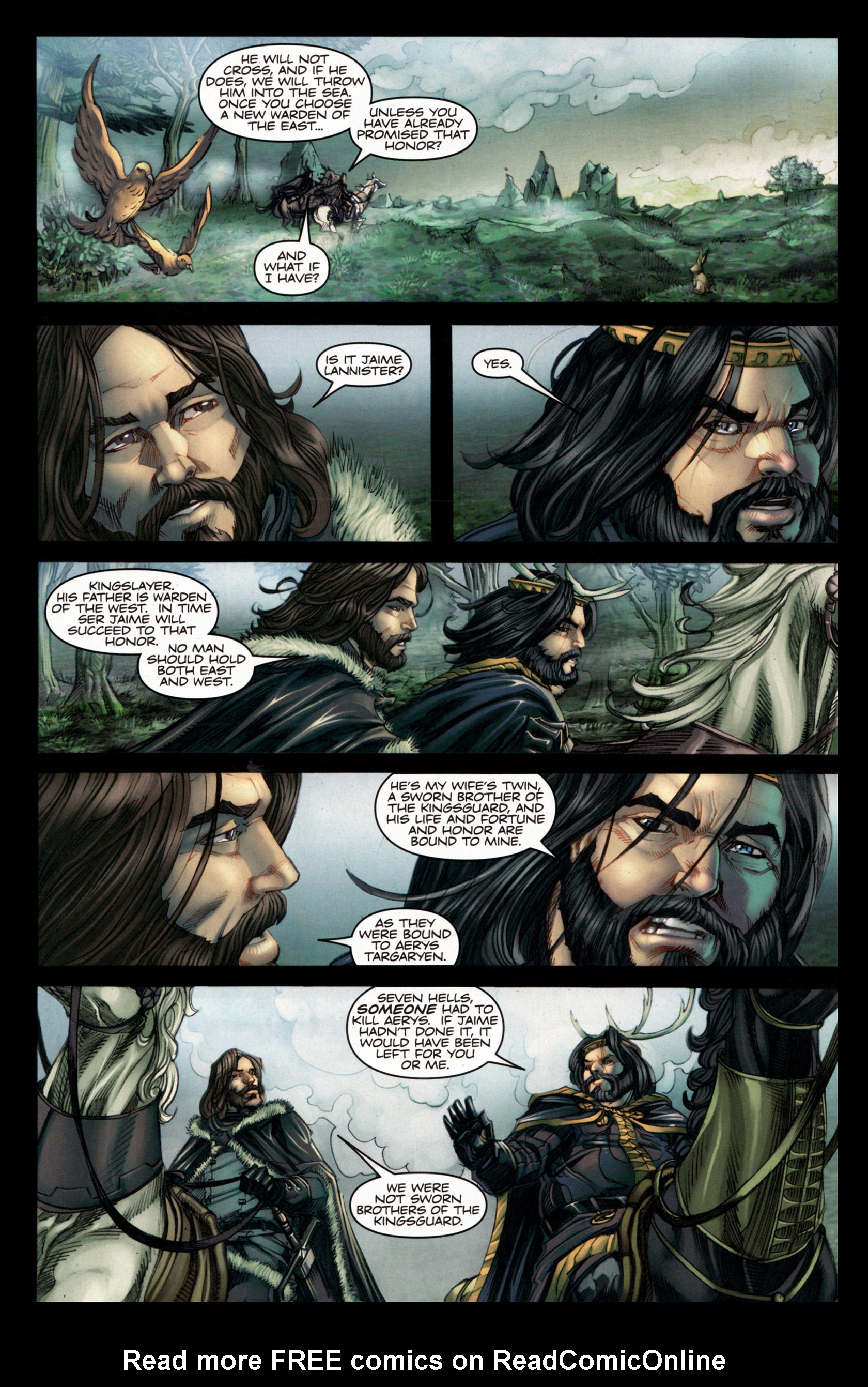 Read online A Game Of Thrones comic -  Issue #4 - 13
