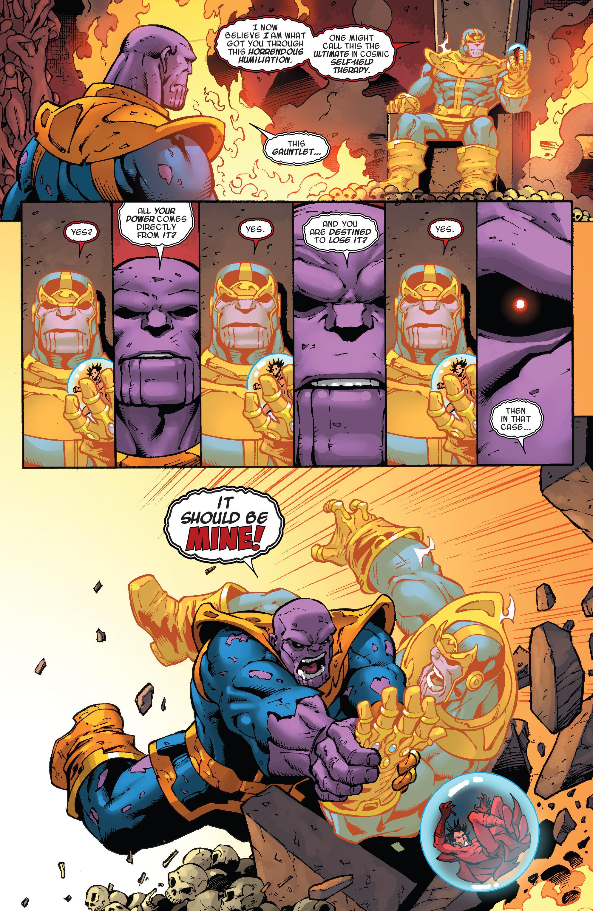 Read online Thanos Annual comic -  Issue # Annual - 16