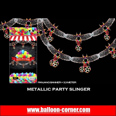Metallic Party Slinger