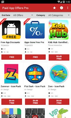تحميل التطبيقات المدفوعة مجانا من Paid App Offers Pro 2019, افضل التطبيقات المدفوعة للاندرويد 2019