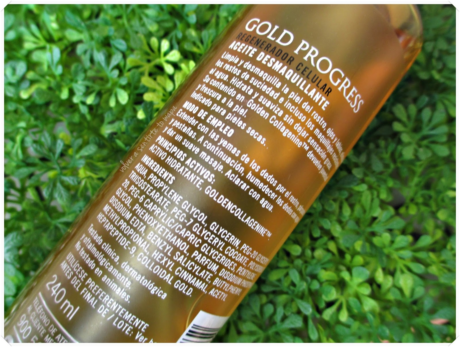 Aceite desmaquillante de Deliplús Gold Progress 14k - Review
