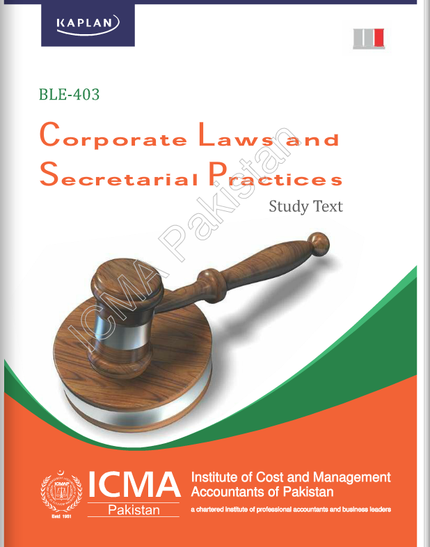 BLE-403: CORPORATE LAWS and SECRETARIAL PRACTICES