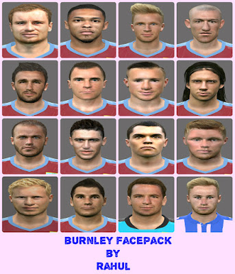 Burnley Facepack