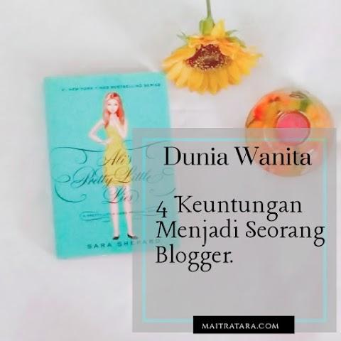 4 Keuntungan Menjadi Seorang Blogger