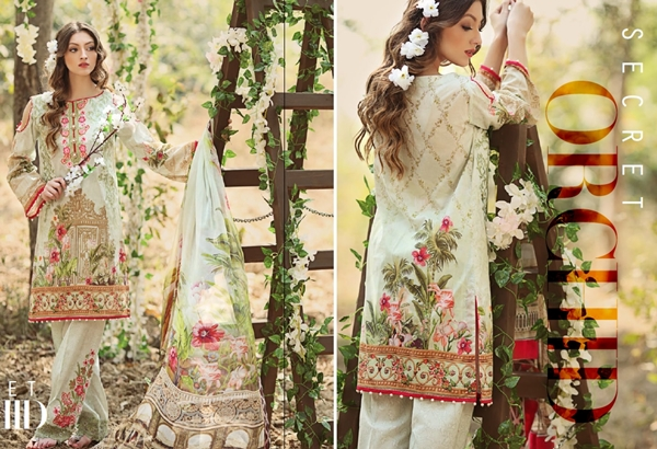 Firdous Malhar Lawn Collection 2017