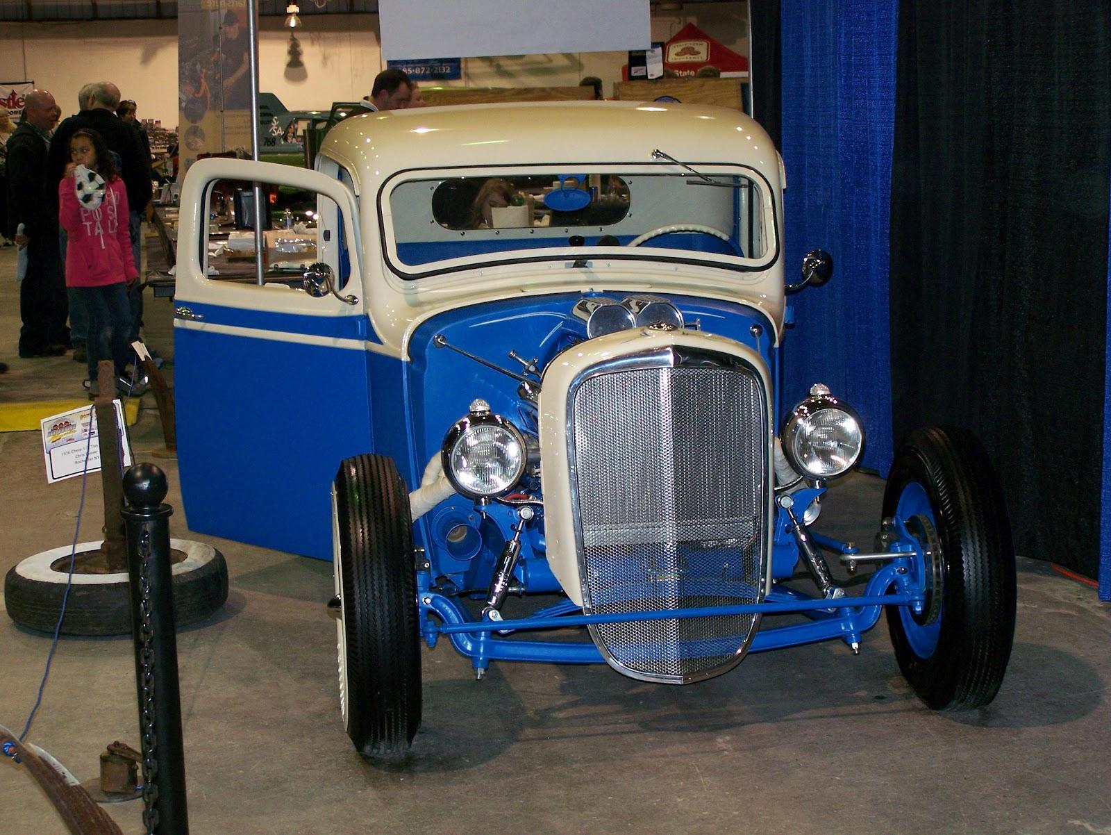 Chopper Creeps: 1936 Chevrolet Hot Rod Truck