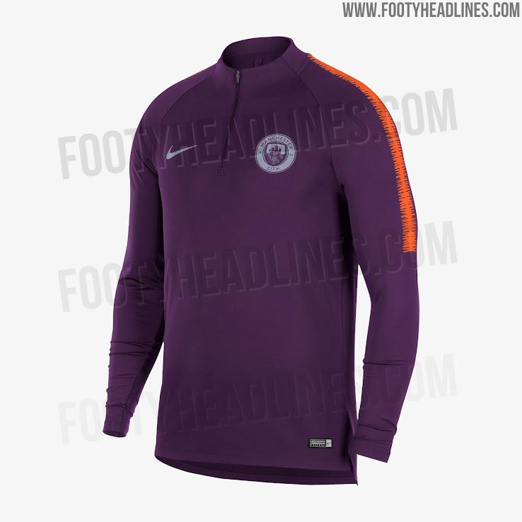 Manchester City 18 19 Champions League Pre Match Shirt