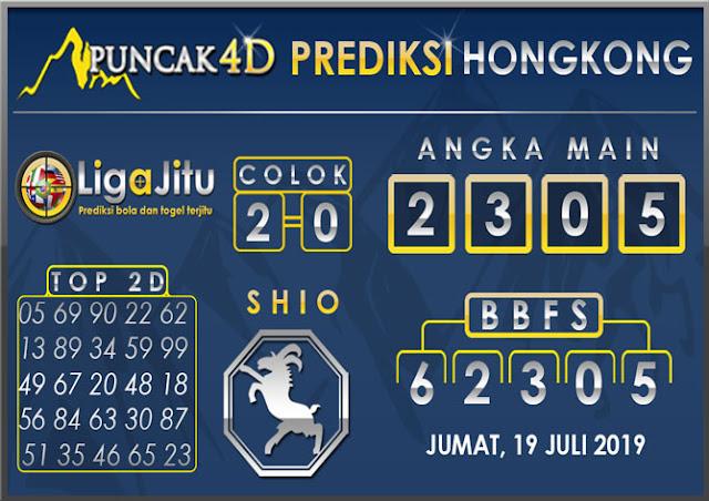 PREDIKSI TOGEL HONGKONG PUNCAK4D 19 JULI 2019