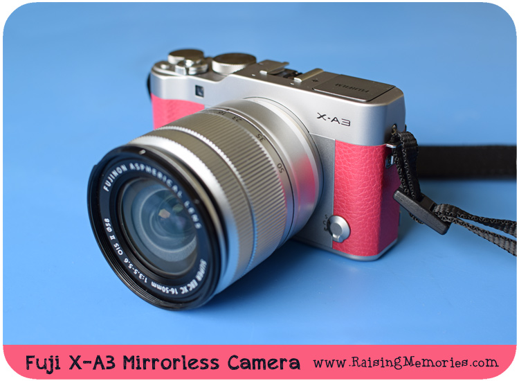 Fujifilm X-A3 Pink Camera Blog Review and Giveaway