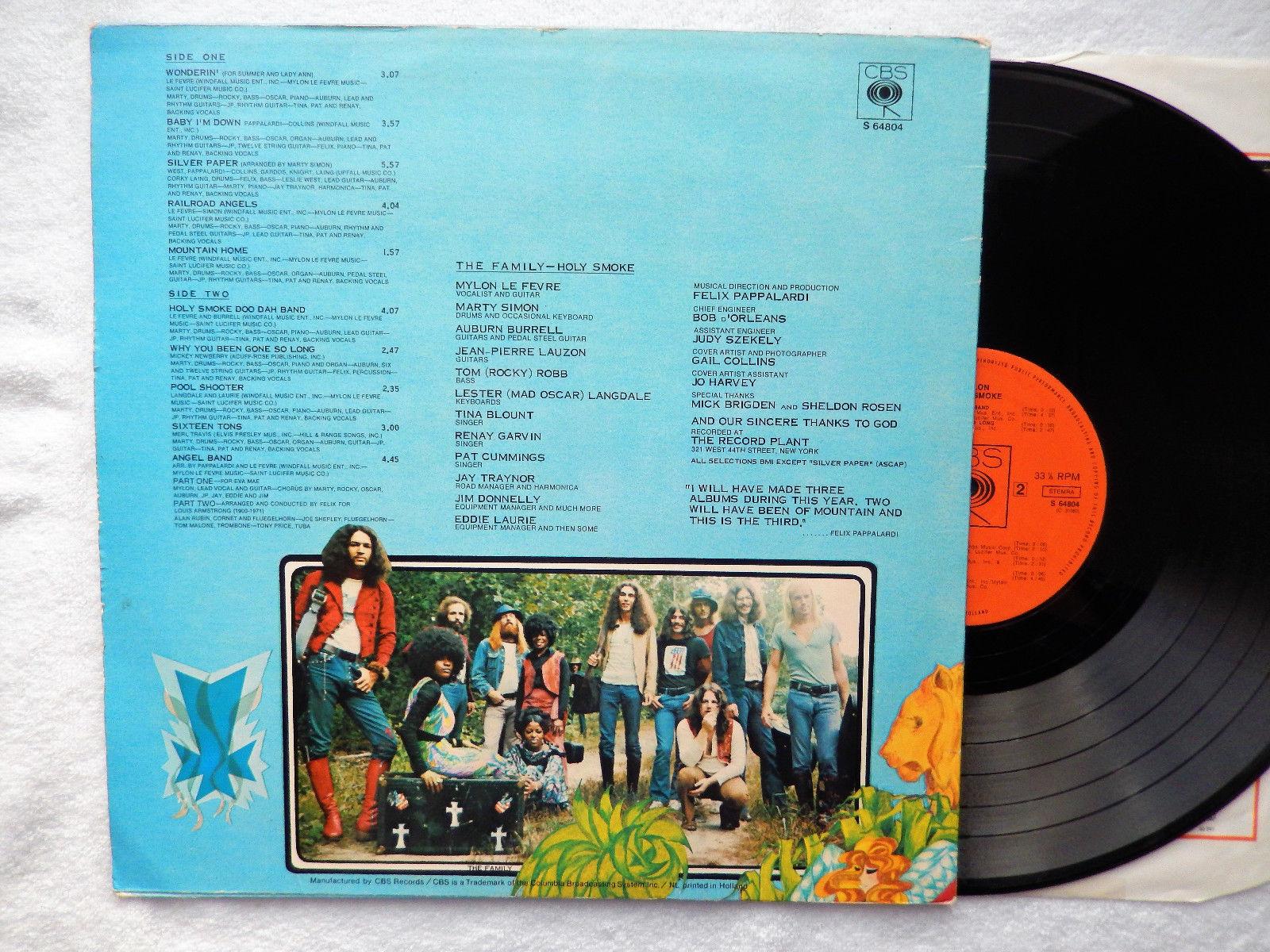 """johnkatsmc5 Mylon """"Holy Smoke"""" 1971 US Southern Psych Folk Rock"""