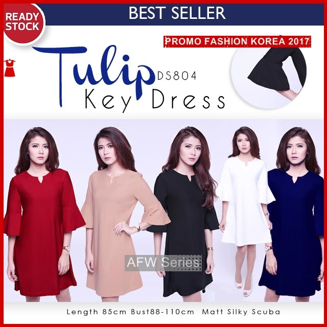 BAMFGW029 Tulip Dress DS804 Wanita PROMO BMG