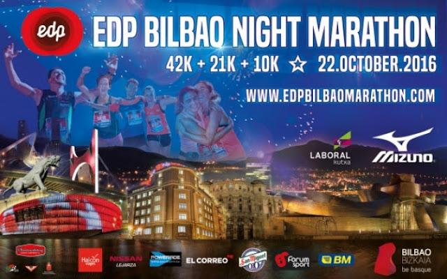 EDP Bilbao Night Marathon - 22 de Octubre