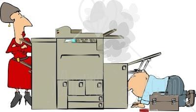 Xử lý nhanh chóng khi bị kẹt giấy máy in canon