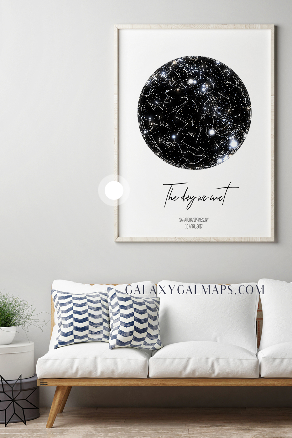 star map constellation map wall art bridal shower gift personalized wedding gift happily ever after print personalized wedding gift for couple