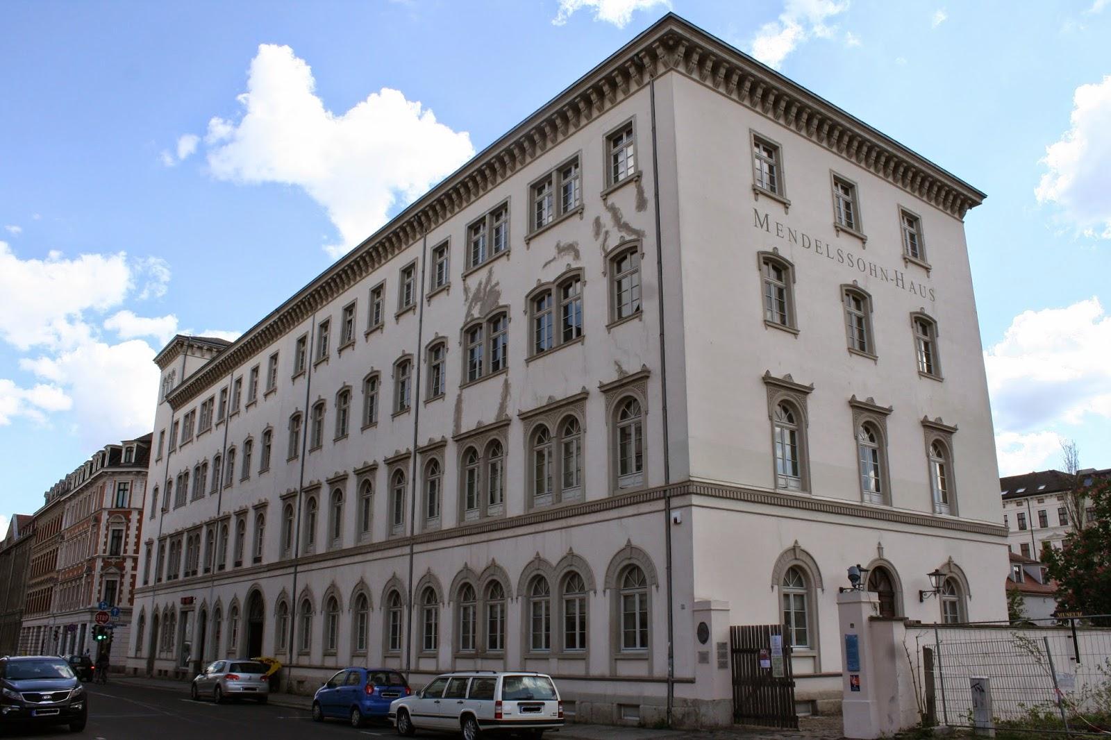 """Mendelssohn Haus das Oratorium """"Elias"""" Leipzig Days"""