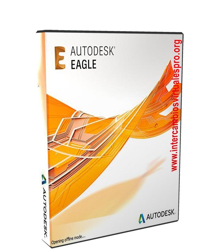 Autodesk EAGLE Premium 8.0.1 poster box cover