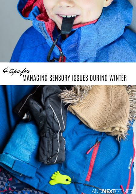 4 tips for managing sensory issues during winter