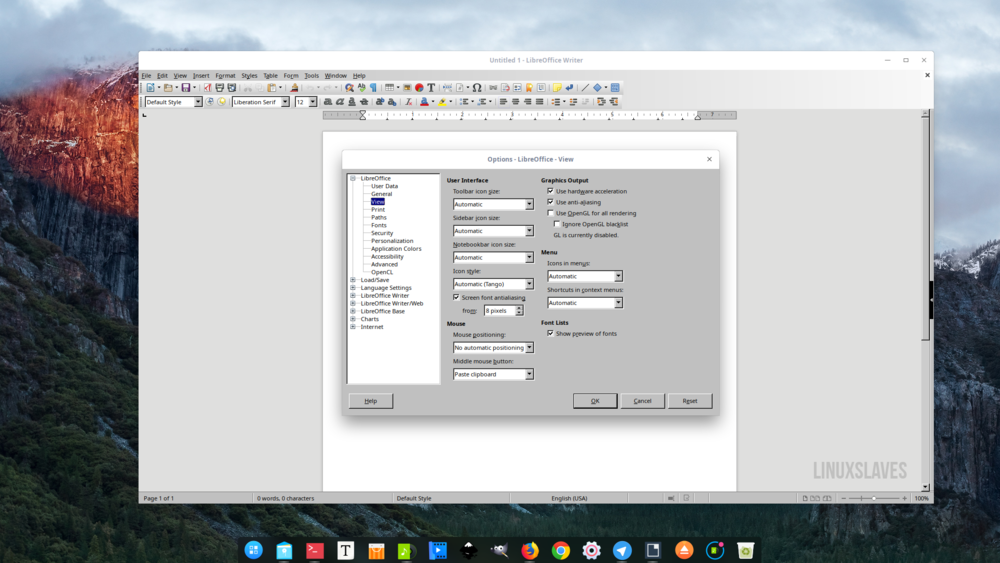 How to Fix LibreOffice Looks Awful in KDE Plasma, LXQt