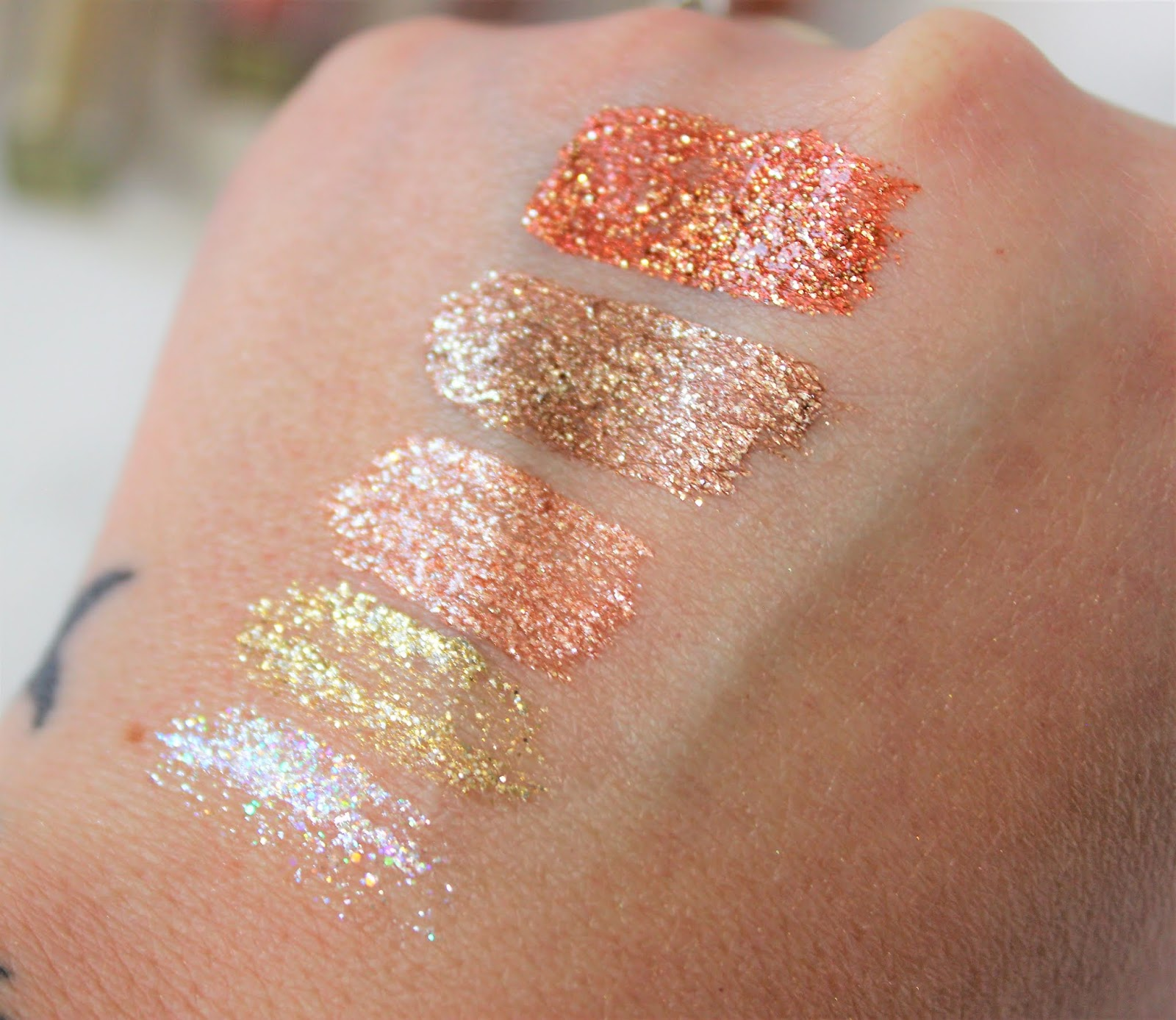 Pixi Liquid Fairy Lights Swatches