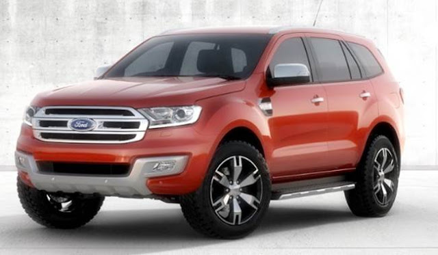 2017 Ford Everest Release Date and Price