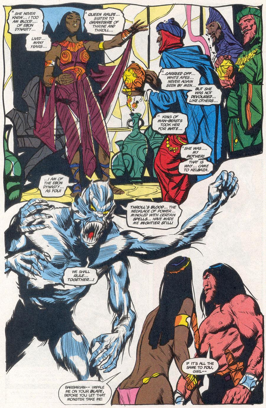Comic Conan the Barbarian (1970) issue 277