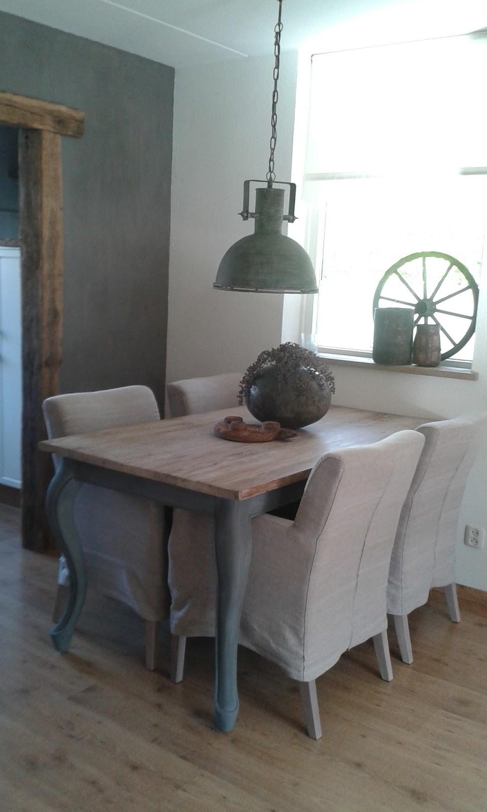 Wonen in je eigen stijl nieuwe eetkamer stoelen - Kamer kleur man ...