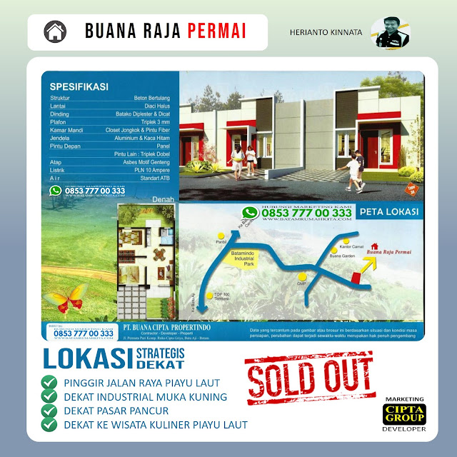 Townhouse Buana Raja Permai