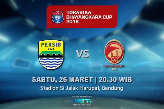 Persib vs Sriwijaya FC Piala Bhayangkara 2016