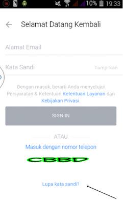 Cara Mengatasi Lupa Kata Sandi Akun BBM Di HP Android