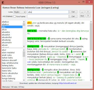 Aplikasi KBBI Kamus Besar Bahasa Indonesia Offline