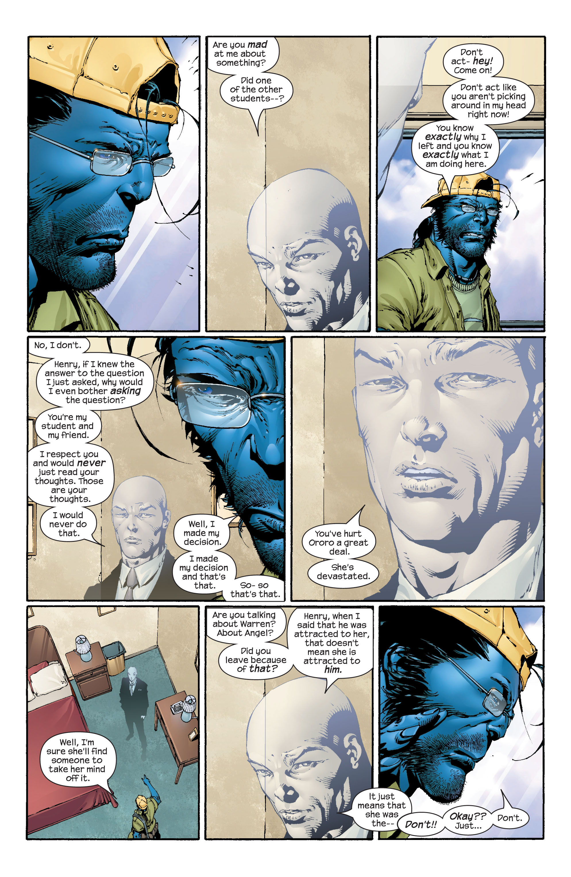 Read online Ultimate X-Men comic -  Issue #43 - 11