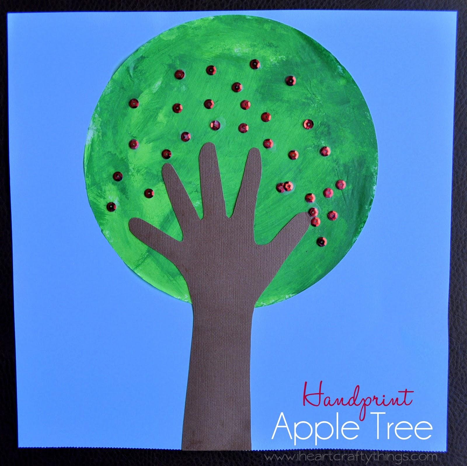 Apple Tree Craft Kids Diy