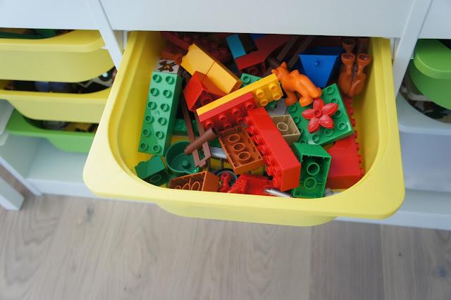 Pojemnik na Lego Duplo