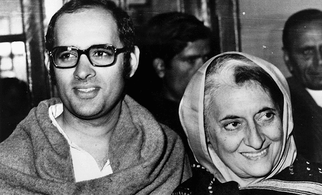 Sanjay Gandhi's death