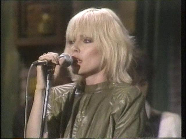 DARK CIRCLE ROOM: Blondie - Saturday Night Live, US TV