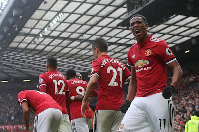 Highlight Man United 1-0 Tottenham Hotspur, 28 Oktober 2017