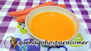 Crema De Zanahoria Sin Lácteos
