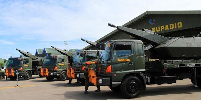 Indonesia Sebar Rudal Anti Jet Tempur di Natuna