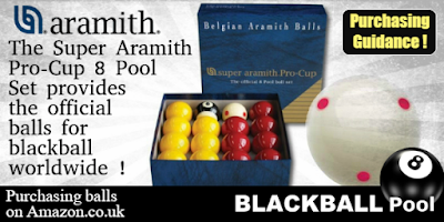 aramith pool balls for blackball