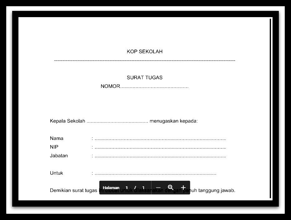 Aplikasi Surat Tugas Administrasi Tu Tata Usaha Sekolah