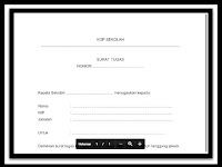 Aplikasi Surat Tugas Administrasi TU (Tata Usaha) Sekolah Resmi Sesuai Juknis 2016-2017