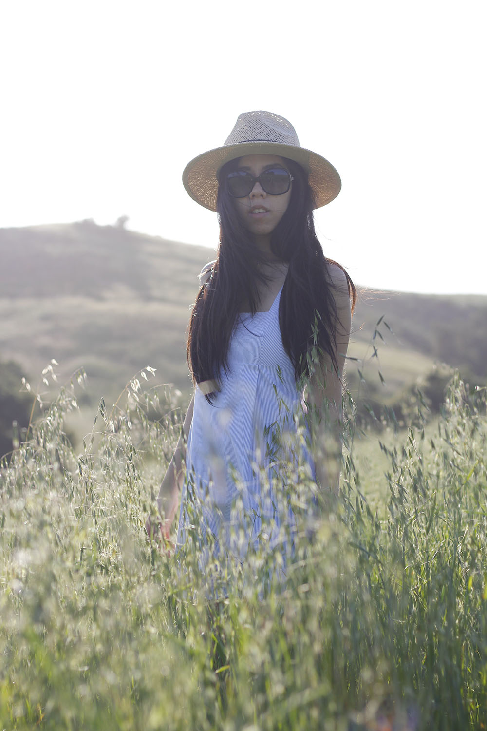 Adrienne Nguyen_How to Wear a Fedora with a Dress