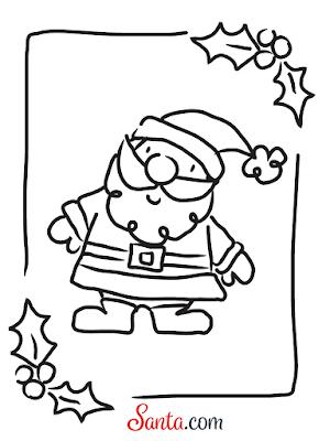 Santa.com Santa Claus Printable